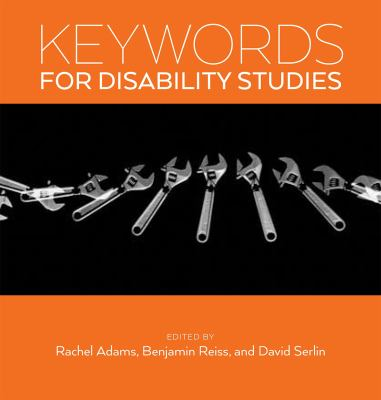 Cover Image of Keywords for Disability Studies