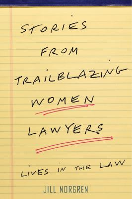Stories from Trailblazing Women Lawyers book cover