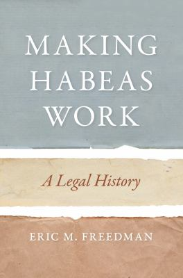 Making Habeas Work book cover