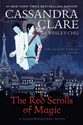 Book cover for The red scrolls of magic.