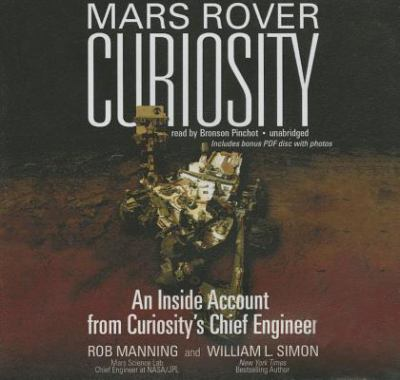 "cover of ""Mars Rover Curiosity"""