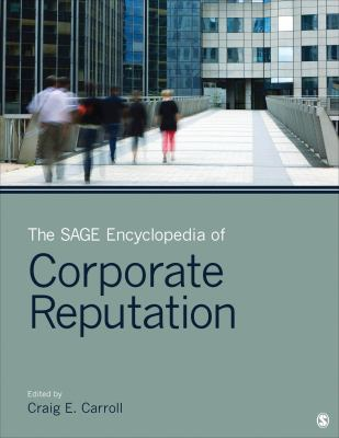 Book jacket for The SAGE Encyclopedia of Corporate Reputation