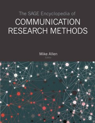 Cover of The SAGE Encyclopedia of Communication Research Methods