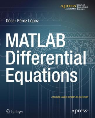 book cover: MATLAB Differential Equations