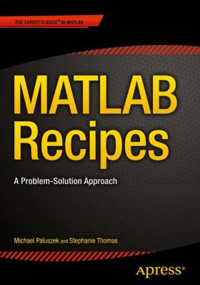 book cover: MATLAB Recipes