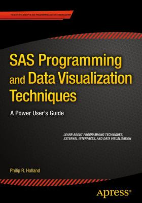 book cover: SAS Programming and Data Visualization Techniques