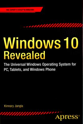 book cover: Windows 10 Revealed