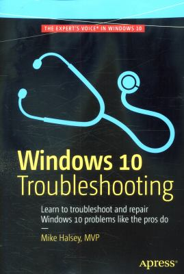 book cover: Windows 10 Troubleshooting