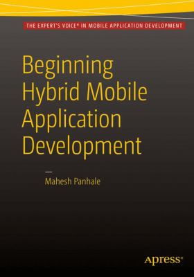 book cover: Beginning Hybrid Mobile Application Development