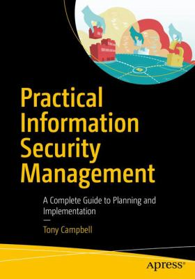 book cover: Practical Information Security Management