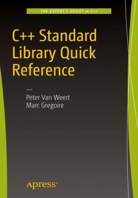 book cover: C++ Standard Library Quick Reference