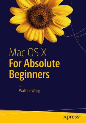 book cover: Mac OS X for Absolute Beginners