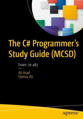 book cover: The C# Programmer's Study Guide (MCSD)