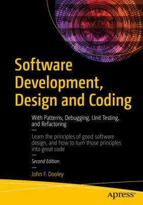 book cover: Software Development, Design and Coding