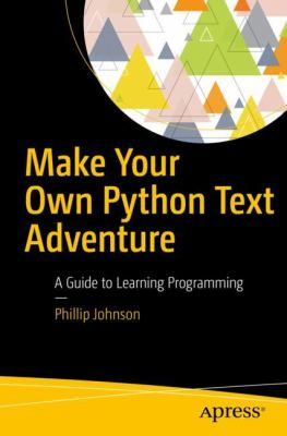 book cover: Make Your Own Python Text Adventure