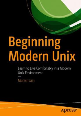 book cover: Beginning Modern Unix