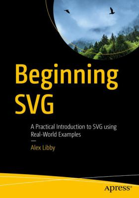 book cover: Beginning SVG
