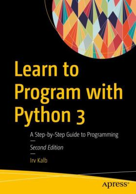 book cover: Learn to Program with Python 3