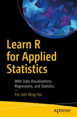 book cover: Learn R for Applied Statistics