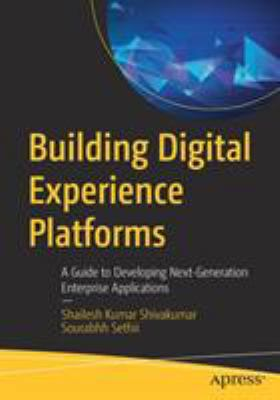 book cover: Building Digital Experience Platforms