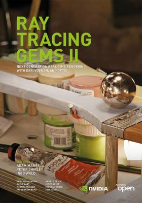 book cover: Ray Tracing Gems: high-quality and real-time rendering with DXR and other APIs