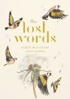 The Lost Words book cover