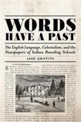 Cover Art for Words have a Past by Jane Griffith