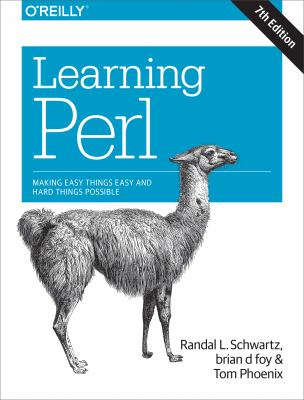 book cover: Learning Perl