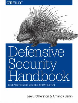 book cover: Defensive Security Handbook