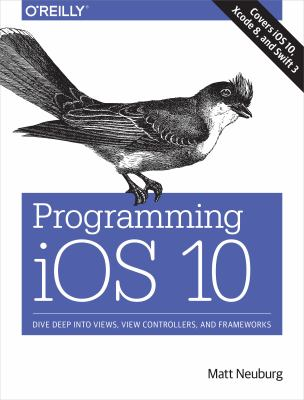 book cover: Programming IOS 10