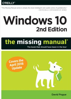 book cover: Windows 10