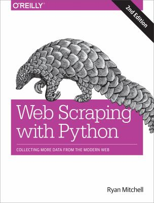 book cover: Web Scraping with Python
