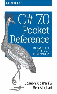 book cover:  C# 7. 0 Pocket Reference
