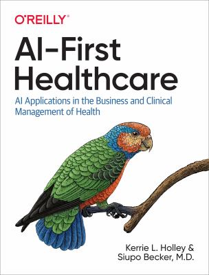 Book cover ofAI-First Healthcare - click to open in a new window