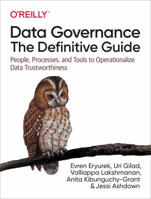 Book cover ofData Governance: the Definitive Guide - click to open in a new window