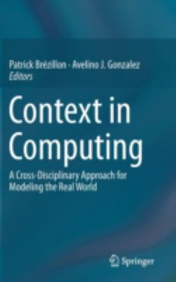 book cover: Context in Computing
