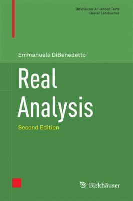 book cover: Real Analysis