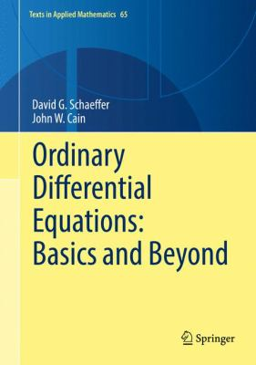 book cover: Ordinary Differential Equations : basics and beyond