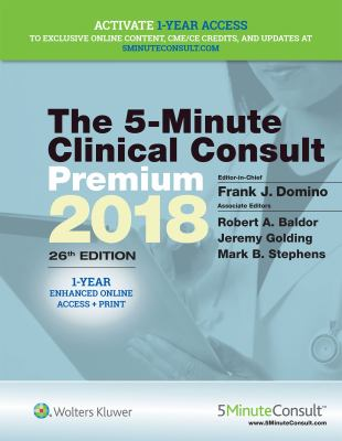 The 5 Minute Clin Consult Premium 2018