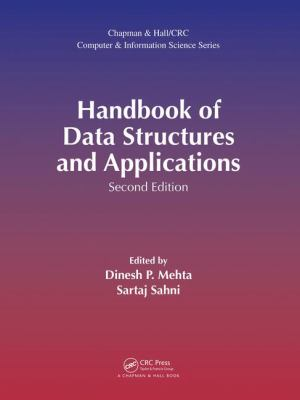 book cover: Handbook of Data Structures and Applications
