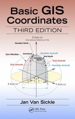 book cover: Basic GIS Coordinates