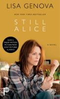 Book cover for Still Alice by Lisa Genova