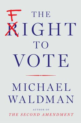 Book cover for The fight to vote.