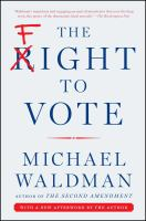 The Fight to Vote book cover
