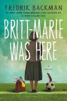 Britt-Marie was here book cover