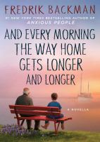 Every Morning the way home book cover