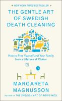 Cover of The Art of Swedish Death Cleaning