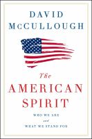 The American Spirit book cover