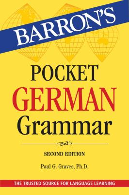 Pocket German grammar by Graves, Paul G., author.