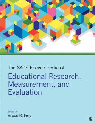 Book jacket for The SAGE Encyclopedia of Educational Research, Measurement, and Evaluation